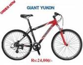 GIANT BICYCLES Mountain Bicycle SE YUKON